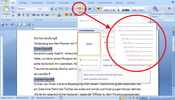 microsoft word advanced imb e tutorials